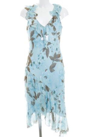 Sandro Ferrone Volante jurk bloemenprint klassieke stijl