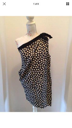 ❤️ SANDRO Kleid asymmetrisch Gr. 3