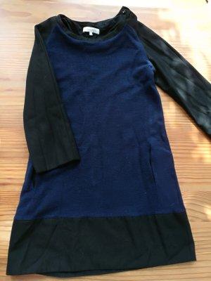 Sandro  Kleid blau&schwarz
