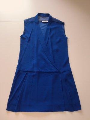 Sandro Kobaltblau minikleid tiefer Ausschnitt