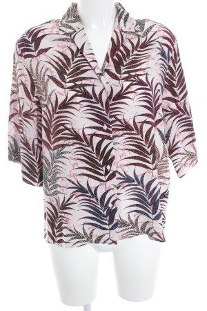Sandro Langarm-Bluse florales Muster schlichter Stil