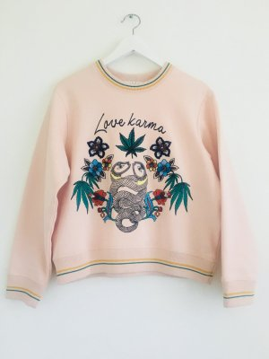 "Sandro ""Love Karma"" Sweatshirt"