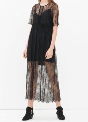 Sandro Maxi Dress black