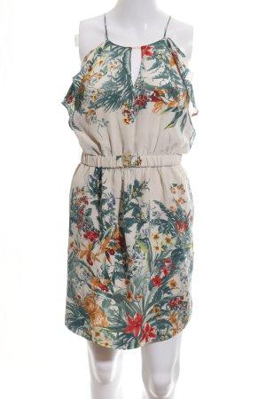 Sandro Minikleid Blumenmuster Casual-Look