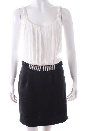Sandro Minikleid schwarz-weiß