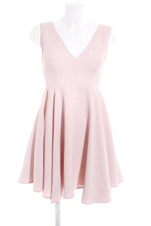 Sandro Paris A-Linien Kleid nude klassischer Stil