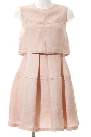Sandro Paris A-Linien Kleid rosé Romantik-Look