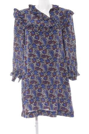 Sandro Paris Blusenkleid florales Muster Casual-Look