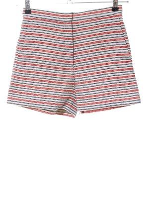 Sandro Paris High-Waist-Shorts Allover-Druck Casual-Look