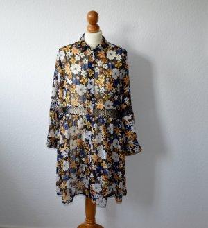 Sandro Paris Kleid Flower Print Größe 36