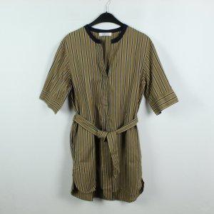 Sandro Paris Shirtwaist dress black-ocher mixture fibre