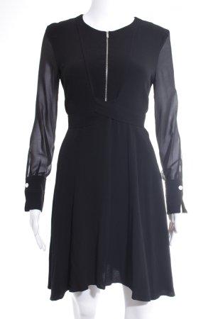 Sandro Paris Langarmkleid schwarz Elegant