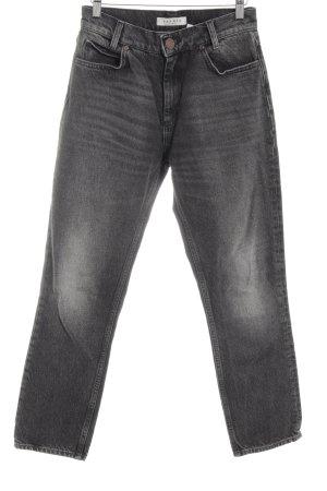 Sandro Paris Slim Jeans hellgrau Casual-Look