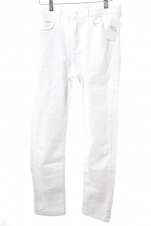 Sandro Paris Slim Jeans weiß Casual-Look
