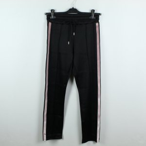 Sandro Paris Sweat Pants black-light pink viscose