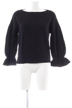 Sandro Paris Sweatshirt schwarz Elegant