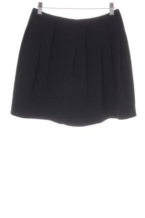 Sandro Geplooide rok zwart casual uitstraling