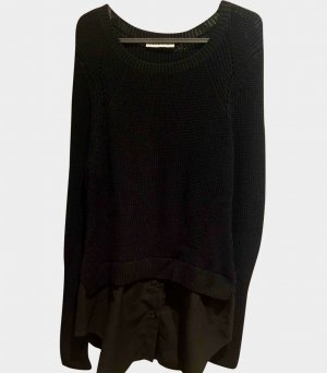 SANDRO Pullover Gr. 1 ( Gr. S ) Schwarz