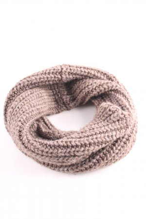 Sandro Tube Scarf bronze-colored cable stitch casual look