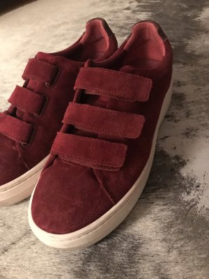 Sandro Velcro Sneakers carmine