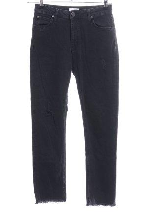Sandro Slim Jeans schwarz Casual-Look