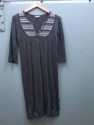 SANDRO Strickkleid Kleid Wollkleid braun Gr. S/ 36/ T1