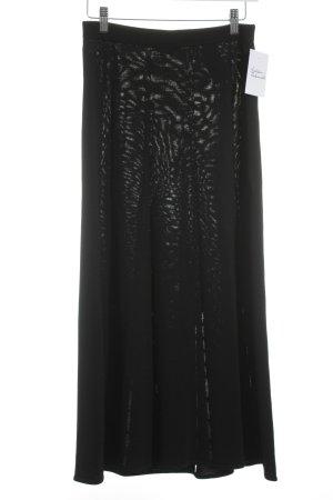 Sandro Gebreide rok zwart elegant