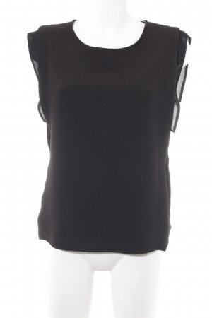 Sandro Knitted Top black business style