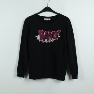Sandro Sweatshirt Sweater Gr. S schwarz (19/09/198)
