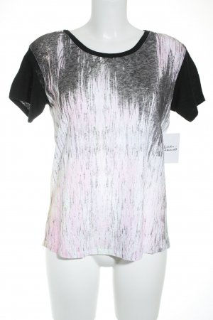 Sandro T-Shirt abstraktes Muster Street-Fashion-Look