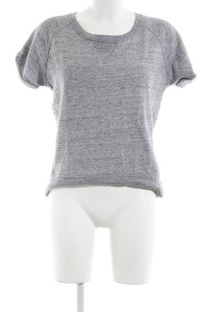 Sandro T-Shirt hellgrau meliert Casual-Look