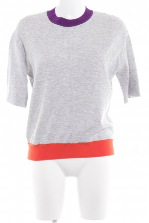 Sandro T-Shirt meliert Casual-Look
