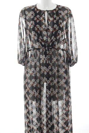 Sandro Tunic Dress flower pattern street-fashion look