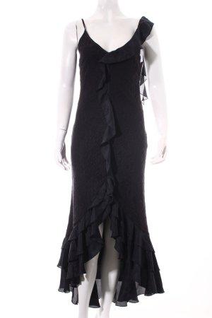 Sandwich Abendkleid schwarz Elegant