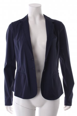 Sandwich Blazer dunkelviolett Business-Look