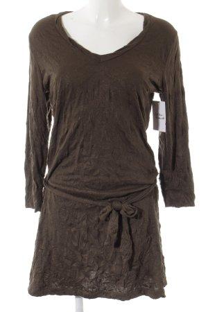 Sandwich Long Sweater black brown glittery