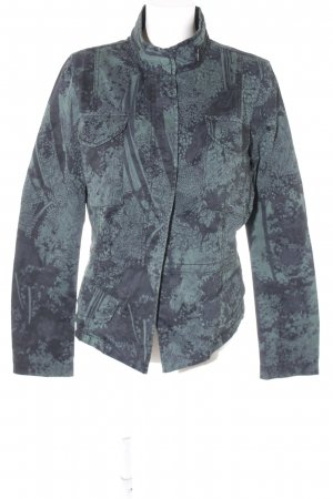 Sandwich Safari Jacket forest green-black floral pattern classic style
