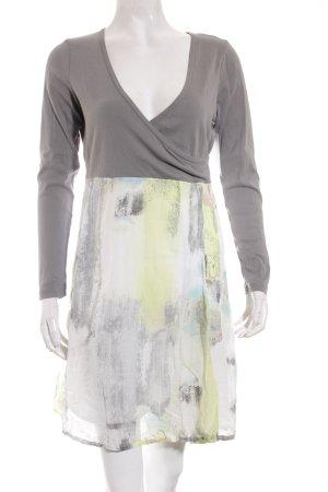 Sandwich Shirtkleid mehrfarbig Casual-Look