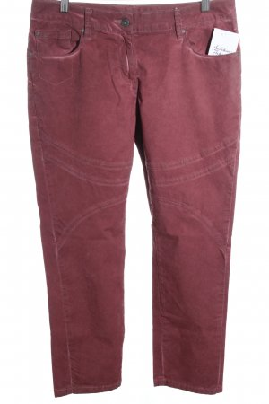 Sandwich Slim Jeans rostrot Casual-Look