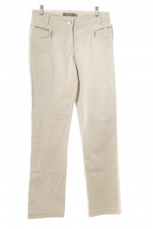 Sandwich Straight-Leg Jeans beige Casual-Look