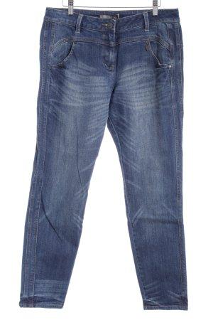 "Sandwich Stretch Jeans ""Verona"" dunkelblau"