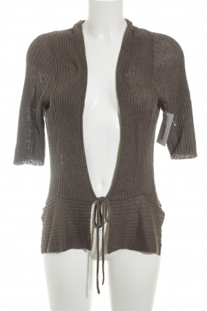 Sandwich Knitted Top brown casual look