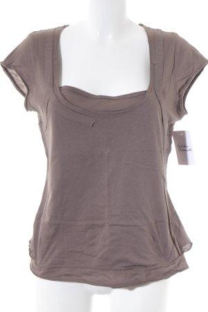Sandwich T-Shirt graubraun Casual-Look