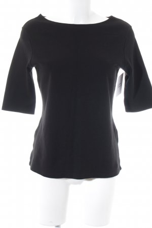 Sandwich T-Shirt schwarz minimalistischer Stil