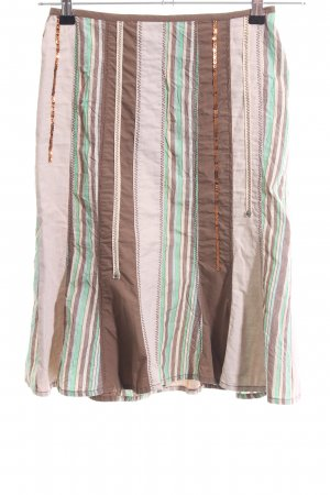 Sandwich Tulip Skirt striped pattern casual look