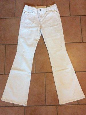 Diesel Jeans bootcut blanc