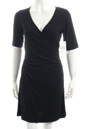 Sani Blu Stretchkleid schwarz schlichter Stil