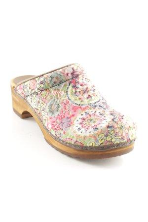 Sanita Sabot motif floral style décontracté