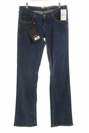 Sansibar Boot Cut Jeans blau Washed-Optik