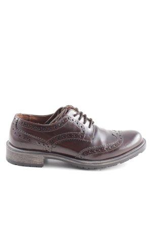 Sansibar Budapest schoenen bruin casual uitstraling